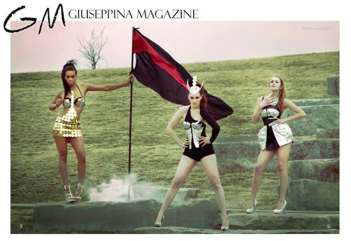 Published in Giuseppina Magazine Shot by: Vanessa Vonrouge MUA: Sasha Stars