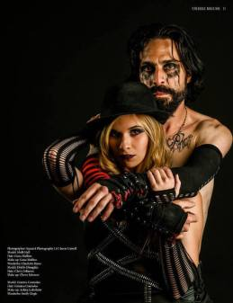 Published in Tenebrous Summer Sensuality 2014 MUAH: Genna Mullins and Chevy Johnson Shot by: Square 1 Photography