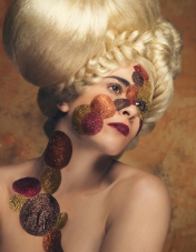 Published in Visionary Magazine (2016) Photography: Kerri Jean MUA: Julie Powers Hair Sculpture: Chie Sharp