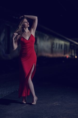 Photography: Brandon S. Hunter MUAH: Brooklyn McDade Location: Union Station Saint Louis