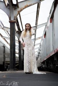 Photography & Hair: Cara-Lynn Birts MUA: self Gown: Enception Location: Union Station Saint Louis
